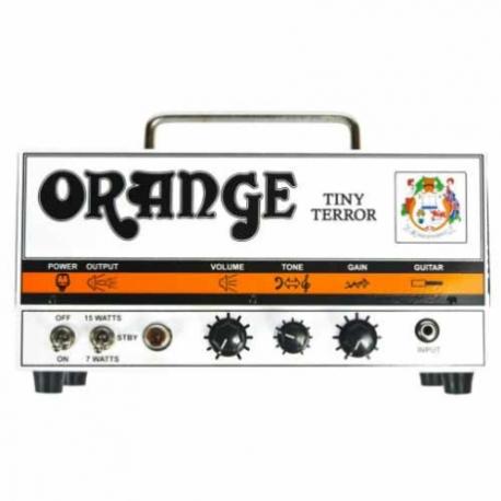 Amplificador de Guitarra ORANGE AMPLI. GUITARRA ELEC. ORANGE TINY, 15W MOD. TT15H  8000143 - Envío Gratuito