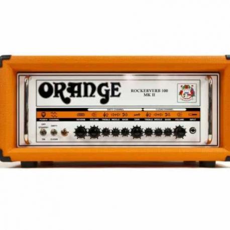 Amplificador de Guitarra ORANGE AMPLI. GUITARRA ELEC. ORANGE ROCKVERB,100W MOD. RK100HMII  8000150 - Envío Gratuito