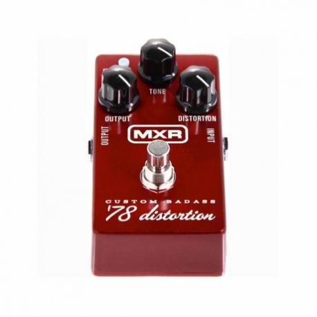 Efectos para Guitarra DUNLOP PEDAL EFECTO DUNLOP MXR CUSTOM BADASS 78 MOD. M78  8302047 - Envío Gratuito