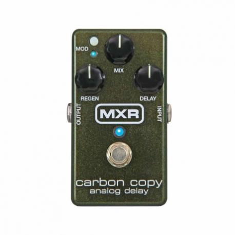 Efectos para Guitarra DUNLOP PEDAL EFECTO DUNLOP MXR CARBON COPY MOD. M169  8302638 - Envío Gratuito