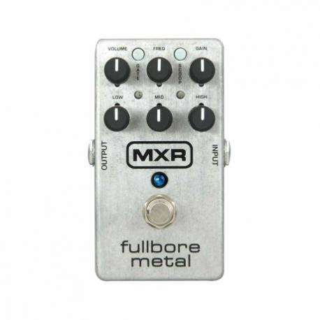 Efectos para Guitarra DUNLOP PEDAL EFECTO DUNLOP MXR FULLBORE METAL MOD. M116  8302640 - Envío Gratuito