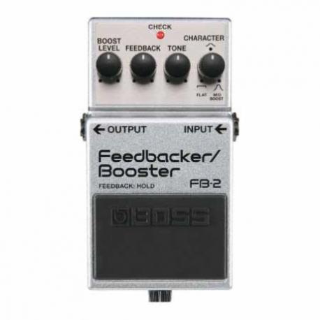 Efectos para Guitarra BOSS PEDAL EFECTO S. FEEDBACKER/BOOSTER MOD. FB-2  8303076 - Envío Gratuito