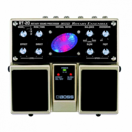 Efectos para Guitarra BOSS PEDAL DOB. EFECTO ROTARY SPEAKER MOD. RT-20  8303188 - Envío Gratuito