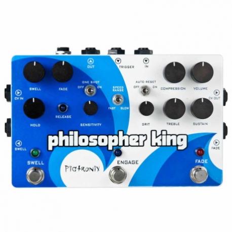 Efectos para Guitarra PIGTRONIX PEDAL EFECTO PIGTRONIX PHILOSOPHER KING MOD. EGC  8303317 - Envío Gratuito
