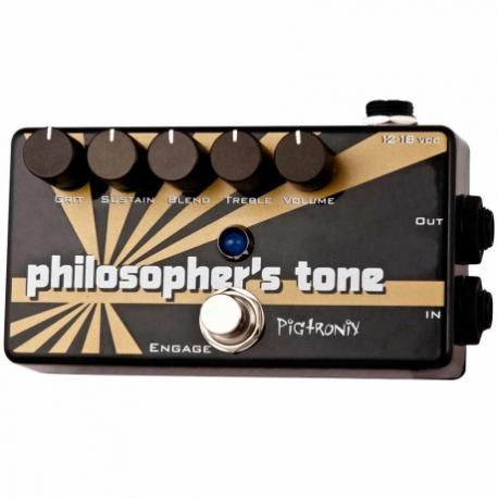 Efectos para Guitarra PIGTRONIX PEDAL EFECTO PIGTRONIX PHILOSOPHERS TONE MOD. CSD  8303311 - Envío Gratuito