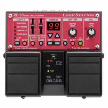 Efectos para Guitarra BOSS PEDAL EFECTO LOOP STATION MOD. RC-30  8302987 - Envío Gratuito