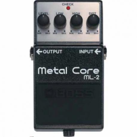 Efectos para Guitarra BOSS PEDAL EFECTO METAL CORE MOD. ML-2  8303033 - Envío Gratuito