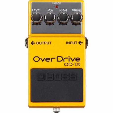 Efectos para Guitarra BOSS PEDAL EFECTO OVER DRIVE MOD. OD-1X  8303052 - Envío Gratuito