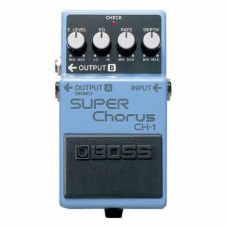Efectos para Guitarra BOSS PEDAL EFECTO SUPERCHORUS MOD. CH-1  8303062 - Envío Gratuito