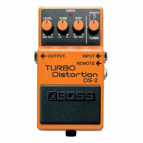 Efectos para Guitarra BOSS PEDAL EFECTO TURBODISTORTION MOD. DS-2  8303064 - Envío Gratuito