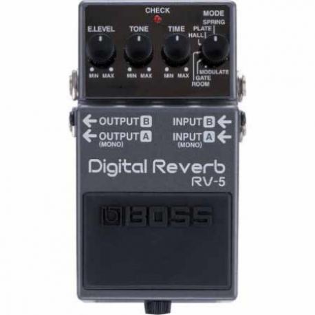 Efectos para Guitarra BOSS PEDAL EFECTO DIGITAL REVERB MOD. RV-5  8303067 - Envío Gratuito
