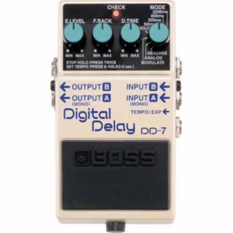 Efectos para Guitarra BOSS PEDAL EFECTO DIGITAL DELAY MOD. DD-7  8303073 - Envío Gratuito