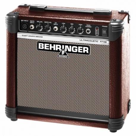 Amplificador de Guitarra BEHRINGER COMBO BEHRINGER P/GUITARRA MOD. AT108  ICBEHAT108 - Envío Gratuito