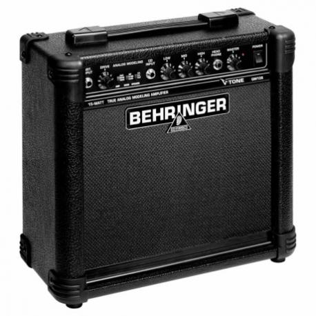 Amplificador de Guitarra BEHRINGER COMBO BEHRINGER P/GUITARRA MOD. GM108  ICBEHGM108 - Envío Gratuito