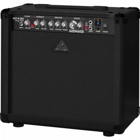 Amplificador de Guitarra BEHRINGER COMBO BEHRINGER P/GUITARRA MOD. GTX30  ICBEHGTX30 - Envío Gratuito