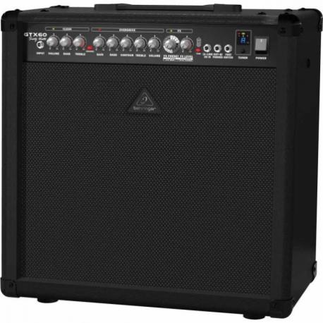 Amplificador de Guitarra BEHRINGER COMBO BEHRINGER P/GUITARRA MOD. GTX60  ICBEHGTX60 - Envío Gratuito