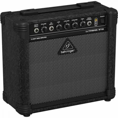 Amplificador de Bajo BEHRINGER COMBO BEHRINGER P/BAJO MOD. BT108 ICBEHBT108 - Envío Gratuito