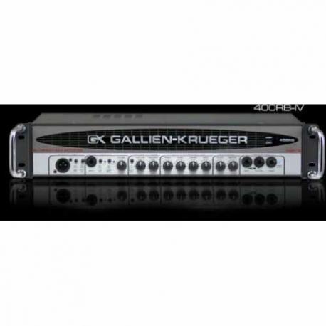 Amplificador de Bajo GALLIEN-KRUEGER AMPLIFICADOR GK P/BAJO MOD. 400RB IV ICGKR400RBIV - Envío Gratuito