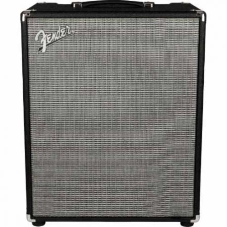 Amplificador de Bajo Fender Rumble 200 (V3) 120V Black/Silver  2370500000 - Envío Gratuito