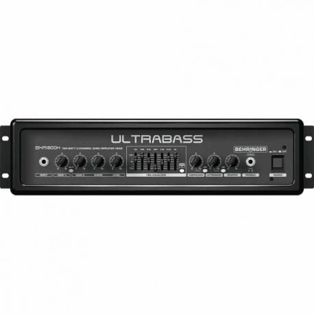 Amplificador de Bajo BEHRINGER AMPLIFICADOR BEHRINGER P/BAJO BXR1800H  ICBEHBXR1800H - Envío Gratuito
