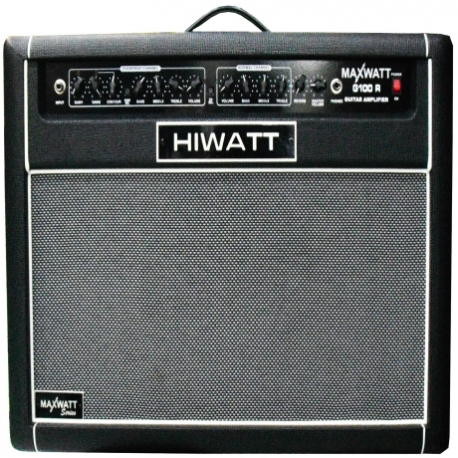 Amplificador de Guitarra HIWATT COMBO HI WATT P/GUITARRA MOD. G100/112R  ICHIWG100112R - Envío Gratuito