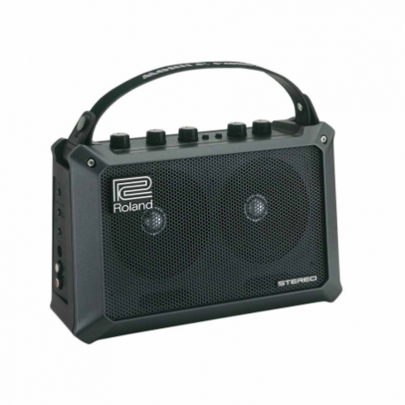 Amplificador de Guitarra ROLAND COMBO USOS MULTIPLES 5W.(2.5+2.5 MOD. MOBILE CUBE  8003270 - Envío Gratuito