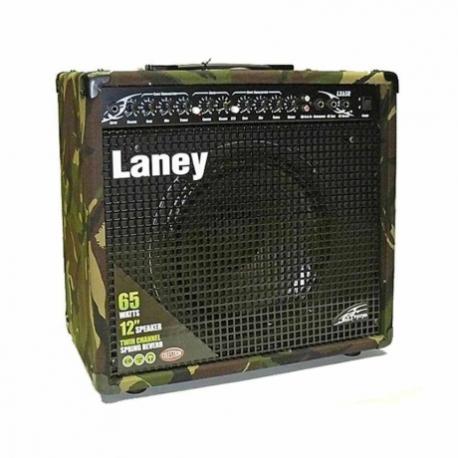 Amplificador de Guitarra LANEY COMBO GUITARRA ELEC. XTREMCAM65W1X12 MOD. LX65RCAMO  8001444 - Envío Gratuito