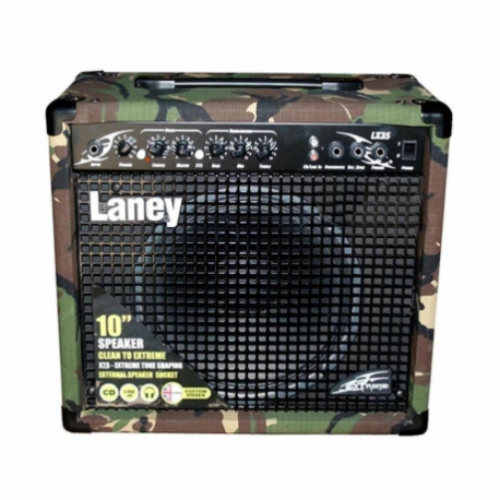 Amplificador de Guitarra LANEY COMBO GUITARRA ELEC. XTREMCAMO30W1X10 MOD. LX35CAMO  8001443 - Envío Gratuito