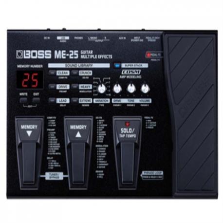 Accesorios Guitarra BOSS PEDALERA MULTI-EFECTOS BOSS MODELO ME-25 8302997 - Envío Gratuito