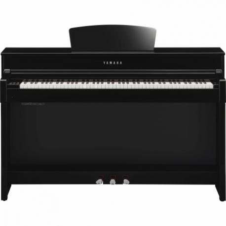 Pianos Digital YAMAHA Piano Clavinova CLP, Negro Brillante  NCLP535PE - Envío Gratuito