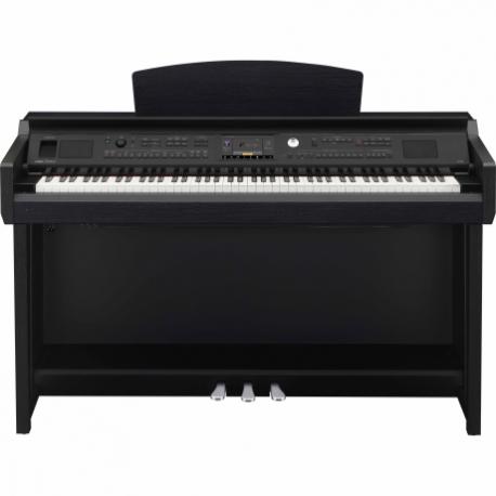 Pianos Digital YAMAHA Piano Clavinova CVP Intermedio Negro Mate  NCVP605B - Envío Gratuito