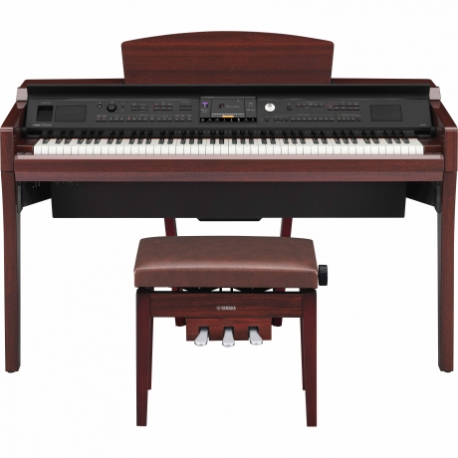 Pianos Digital YAMAHA Piano Clavinova CVP Profesional Caoba Brillante  NCVP609PM - Envío Gratuito