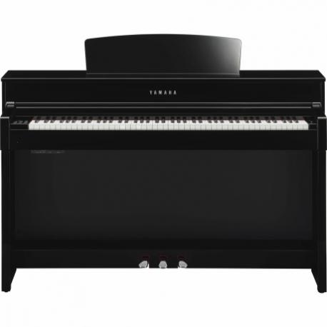 Pianos Digital YAMAHA Piano Clavinova CLP, Negro Brillante NCLP545PE - Envío Gratuito