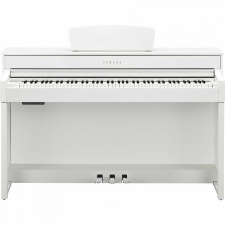Pianos Digital YAMAHA Piano Clavinova CLP, Blanco  NCLP535WH - Envío Gratuito