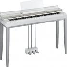 Pianos Digital YAMAHA Piano clavinova modus blanco NR01