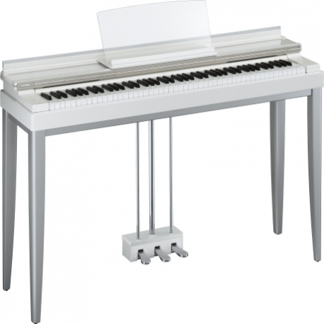 Pianos Digital YAMAHA Piano clavinova modus blanco NR01 - Envío Gratuito