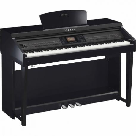 Pianos Digital YAMAHA Piano Clavinova CVP Básico Negro Brillante  NCVP701PE - Envío Gratuito