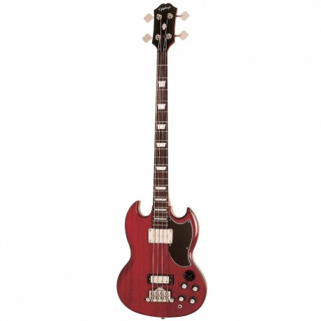 Guitarra Eléctrica EPIPHONE EB-3 Bass (2 P/U) Cherry Ch Hdwe  EBG3CHCH1 - Envío Gratuito