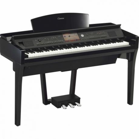 Pianos Digital YAMAHA Piano Clavinova CVP Profesional Negro Brillante NCVP709PE - Envío Gratuito
