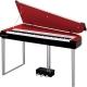 Pianos Digital YAMAHA Piano clavinova MODUS Velet Rouge (Rojo Profundo)  NH01VR - Envío Gratuito
