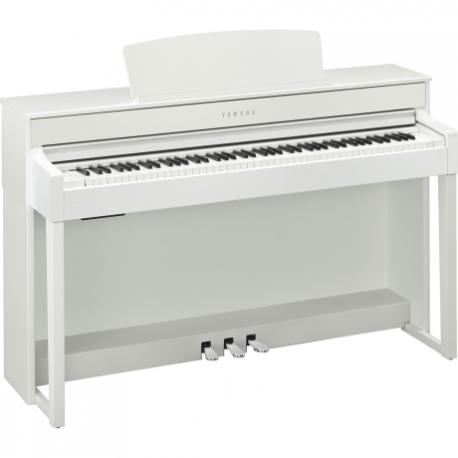 Pianos Digital YAMAHA Piano Clavinova CLP, Blanco Arena  NCLP545WA - Envío Gratuito
