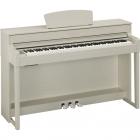 Pianos Digital YAMAHA PIANO CLAVINOVA CLP BLANCO ARENA  NCLP535WA