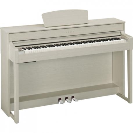 Pianos Digital YAMAHA PIANO CLAVINOVA CLP BLANCO ARENA  NCLP535WA - Envío Gratuito