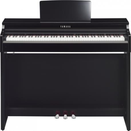 Pianos Digital YAMAHA Piano Clavinova CLP, Negro Brillante (Incluye adaptador PA300C)  NCLP525PESET - Envío Gratuito