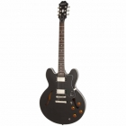 Guitarra Eléctrica EPIPHONE Dot Ebony Ch Hdwe  ETDTEBCH1