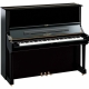Pianos Acustico YAMAHA Piano vertical 131 cm. (Negro Brillante)  PU3PE-1 - Envío Gratuito