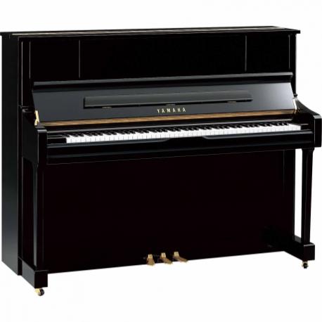 Pianos Acustico YAMAHA Piano vertical 121 cm. (Negro Brillante) PU1JPE - Envío Gratuito