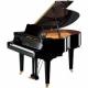 Pianos Acustico YAMAHA Piano de cola 161 cm. (Negro Brillante) con banco  PGC1MPE - Envío Gratuito