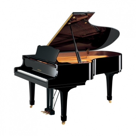 Pianos Acustico YAMAHA Piano de cola 200 cm. (Negro Brillante) con banco  PCX5PE - Envío Gratuito