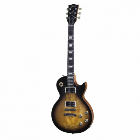 Guitarra Eléctrica GIBSON LP 50s Tribute 2016 T Satin Vintage Sunburst Ch Hdwe LPST5HTSVCH3 - Envío Gratuito